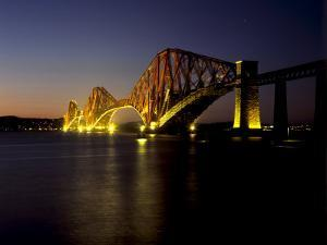 Forth Rail Bridge, Built Between 1883 and 1890, Fife, Scotland by Patrick Dieudonne