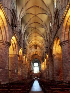 Interior of St. Magnus Cathedral, Kirkwall, Mainland, Orkney Islands, Scotland, UK by Patrick Dieudonne