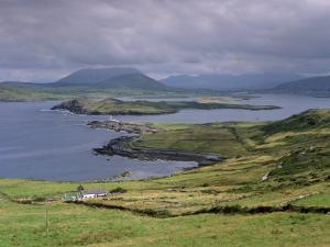 Lighthouse, Beginish Island, Ring of Kerry, County Kerry, Munster, Republic of Ireland by Patrick Dieudonne
