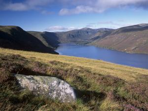 Loch Muick and Lochnagar, Near Ballater, Aberdeenshire, Scotland, United Kingdom, Europe by Patrick Dieudonne