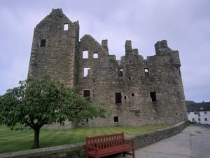 Maclellan's Castle, Kirkcudbright, Dumfries and Galloway, Scotland, United Kingdom, Europe by Patrick Dieudonne