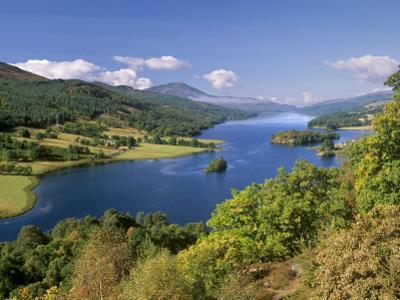 Queen's View, Famous Viewpoint over Loch Tummel, Near Pitlochry, Perth and Kinross, Scotland, UK