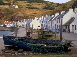 Small Fishing Village of Pennan, North Coast, Aberdeenshire, Scotland, UK by Patrick Dieudonne