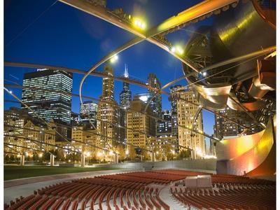 Millennium Park  outdoor theater