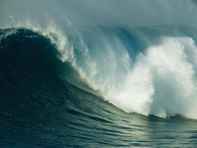 A Powerful Wave, or Jaws, off the North Shore of Maui Island by Patrick McFeeley