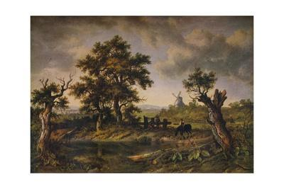 A View In Surrey, c1797-1831, (1919)