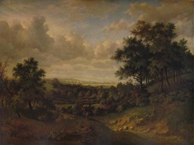 A View of the Thames: Greenwich in the distance, 1820