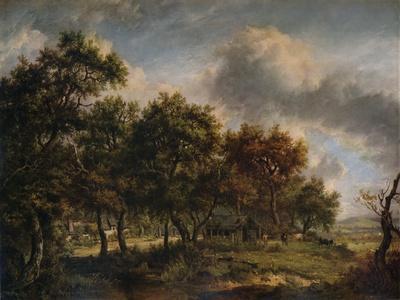 A Woodmans Cottage, 1820