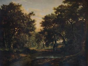The Edge of the Wood, c1824 by Patrick Nasmyth