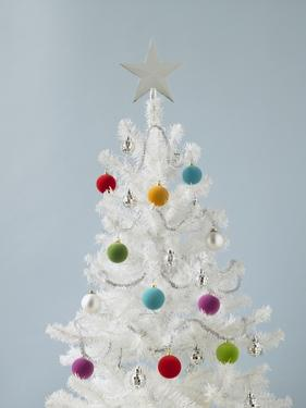 White Christmas Tree by Patrick Norman