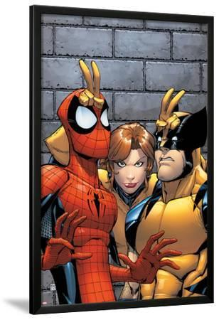 Marvel Adventures Spider-Man No.7 Cover: Spider-Man, Wolverine, and Shadowcat Standing