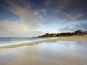 Rainbow, Carmel State Beach, California, USA by Patrick Smith