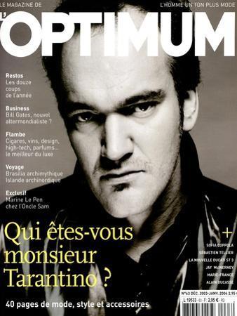 L'Optimum, December 2003-January 2004 - Quentin Tarantino Habillé Par Lv by Patrick Swirc