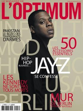L'Optimum, November 2009 - Jay-Z by Patrick Swirc