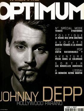 L'Optimum, September 1999 - Johhny Depp by Patrick Swirc