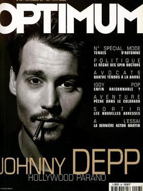 L'Optimum, September 1999 - Johhny Depp by Patrick Swirc