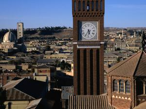 Bell Tower of Catholic Cathedral, Asmara, Eritrea by Patrick Syder