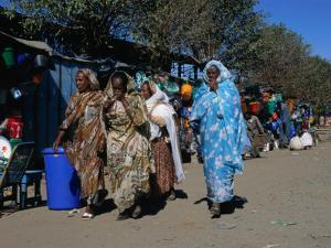 Women at Hardware Market, Asmara, Eritrea by Patrick Syder