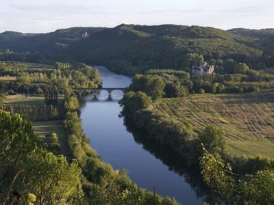 Dordogne River in France