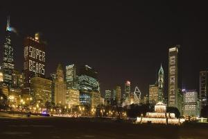 Chicago Bears Skyline 2007 by Patrick Warneka
