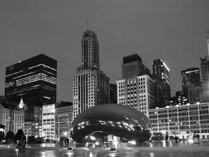 Chicago Black White by Patrick Warneka