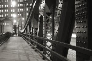Chicago Bridge Over River by Patrick Warneka