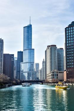 Chicago River Trump Tower by Patrick Warneka