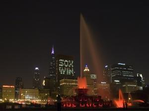 Chicago White Sox Skyline by Patrick Warneka