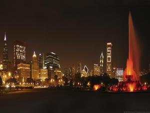Chicago Whitesox Skyline by Patrick Warneka
