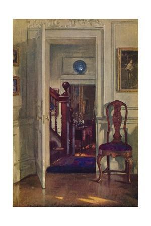 'An Interior at Hove', c19th century
