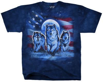 Patriotic Wolf Pack