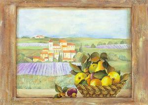 Fruit and Vista I by Patrizia Moro