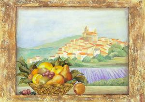 Fruit and Vista III by Patrizia Moro