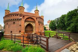 Cracow Barbican - Medieval Fortifcation at City Walls, Poland by Patryk Kosmider