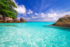 Paradise Lagoon of Similan Islands in Thailand by Patryk Kosmider