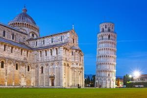 Pisa, Italy. Catherdral and the Leaning Tower of Pisa at Piazza Dei Miracoli. by Patryk Kosmider