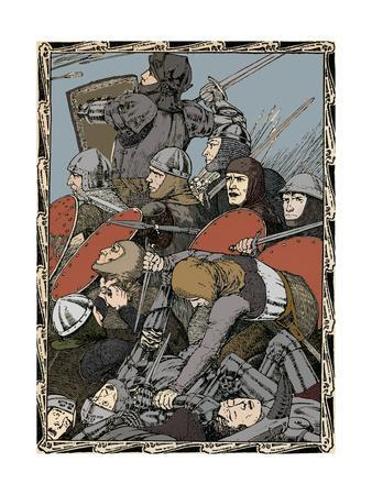 At The Battle of Agincourt, 1902