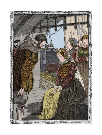 Elizabeth at Traitor's Gate, 1902