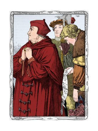 The Arrest of Cardinal Wolsey, 1902