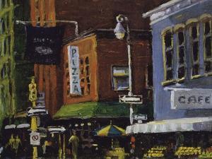 Blue Moon Cafe, New York City by Patti Mollica
