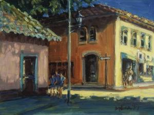 Puerto Vallarta Street Scene by Patti Mollica