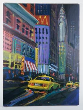 Racing Cabs by Patti Mollica