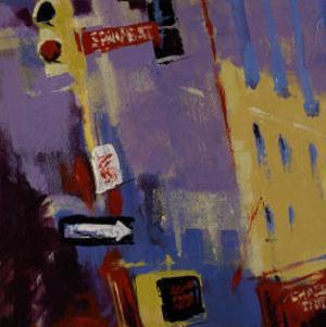 Spring Street Signs by Patti Mollica