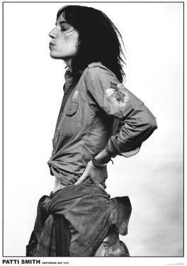 Patti Smith-Amsterdam 1976