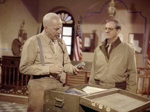 Patton by FranklinSchaffner with George C Scott and Karl Malden, 1970 (photo)