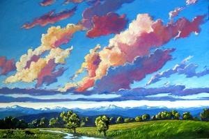 Late Day Clouds over the Divide by Patty Baker