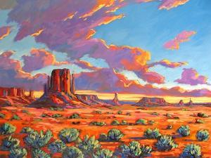 Monument Valley Sunset by Patty Baker
