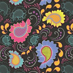 Playful Paisley I by Patty Young