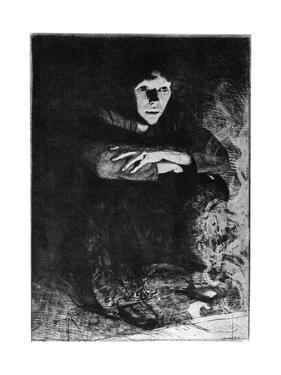 Dans Les Cendres, C1870-1930 by Paul Albert Besnard