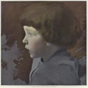 Sketch for a Portrait of a Child by Paul Albert Besnard